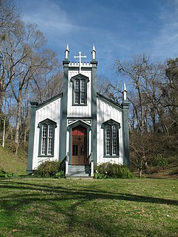 Confederate Memorial Chapel at Grand Gulf Military State Park.jpg