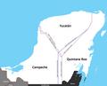 Conflicto Limitrofe Yucatan Campeche Quintana Roo.PNG