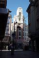 Confluencia de la Calle San Francisco con la Plaza del Reloj.JPG