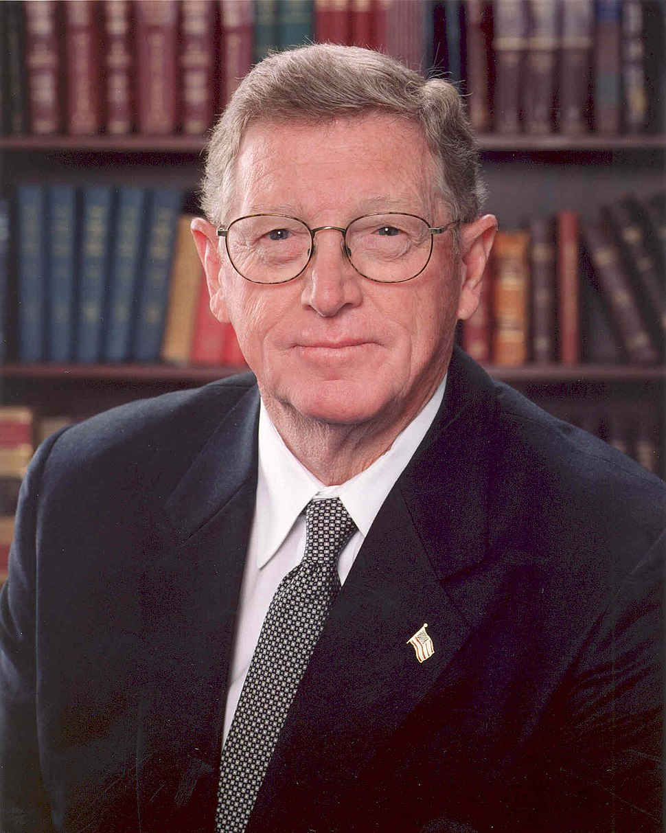Conrad Burns official portrait