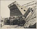 Construction of Sydney Harbour Bridge main bearing, 1927 (8282704329).jpg