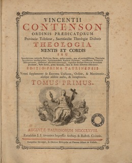 Vincent Contenson French theologian