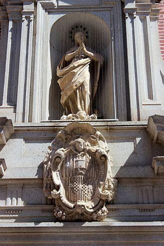 Convento de la Purísima Concepción, Toledo - Arms of the portal