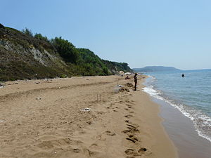 Ionian Islands (region) - A Corfu beach