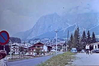 Cortina d'Ampezzo - Cortina in 1971
