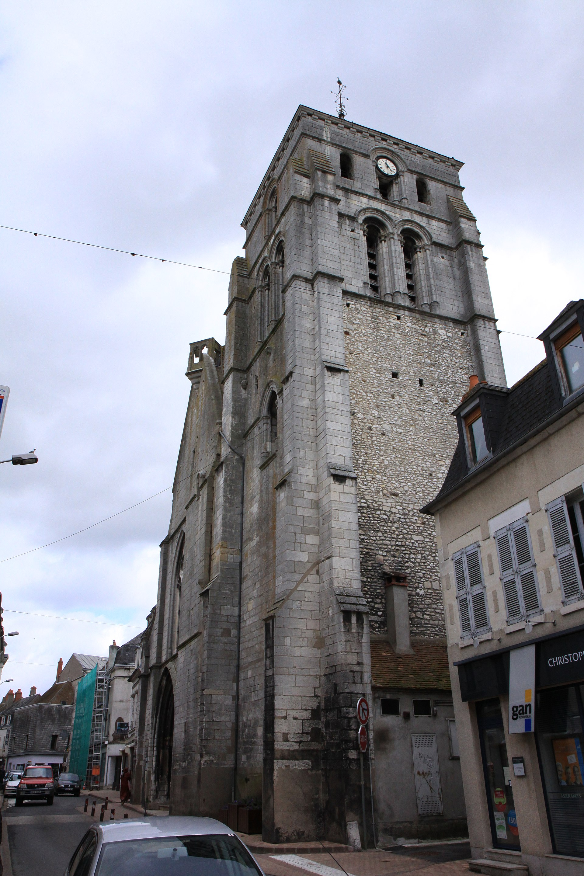 glise saint jacques de cosne cours sur loire wikip dia. Black Bedroom Furniture Sets. Home Design Ideas