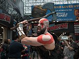 Cosplay of Kratos