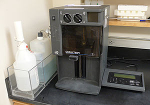 Coulter counter - Coulter Counter Model ZK.