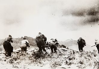 Campaign of Gipuzkoa - Counterattack of the Republican forces in the surroundings of Irun, before its fall to the Nationalists