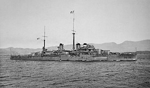 French battleship Courbet (1911) - Image: Courbet Marius Bar img 3152