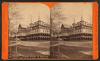 Cresson, Pennsylvania - Image: Cresson, a summer resort on the P. R. R. among the wilds of the Alleghenies, by R. A. Bonine 4