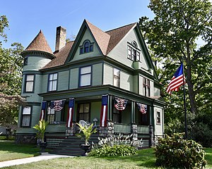 National Register of Historic Places listings in Cass County, Michigan - Image: Criffield Whiteley House