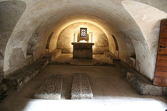 Leocadia - Crypt of Saint Leocadia, Oviedo.