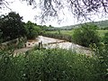 Crossing ford in flood, Quarteira River, 08 May 2016 (1).JPG