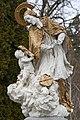 Csákánydoroszló, Nepomuki Szent János-szobor 2021 06.jpg