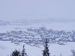 Skyline of Păuleni-Ciuc