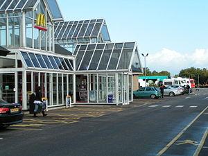 Cullompton services - Image: Cullompton Services
