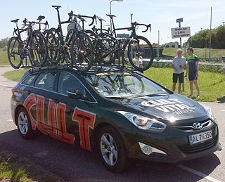Cult Energy Pro Cycling professional road bicycle racing team licensed in Denmark (2000-2015)