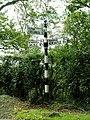 Cumberland signpost near Roweltown - geograph.org.uk - 526247.jpg