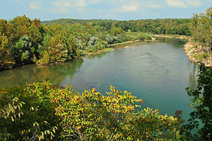 Current River (Ozarks) - Current River near Doniphan