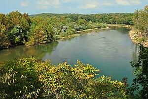 en:Current River in Missouri, United States. d...