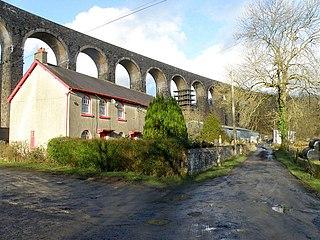 Cynghordy village in United Kingdom