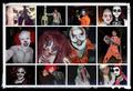 Día de fiesta de la muerte máscaras representantes Kofler y familiares.png