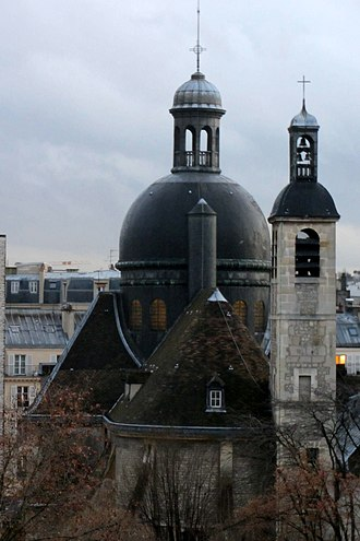 Rue de Vaugirard - Image: Dôme église Saint Joseph des Carmes 03