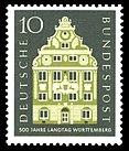 DBP 279 Landtag Württemberg 10 Pf 1957.jpg