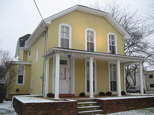 D. B. James House - The Daniel B. James Residence is within the boundaries of the Sycamore Historic District.