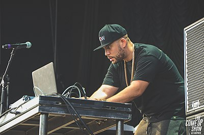 Picture of a band or musician: DJ Drama