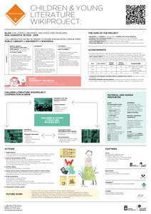 DK19 Wikiliburutegiak Children & Young Literature Wikiproject Poster A1 Ingles 1.1.pdf
