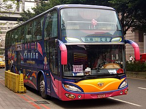 Daewoo Bus - Daewoo BH117K bus by Nan Jye Co., Ltd in Taiwan.