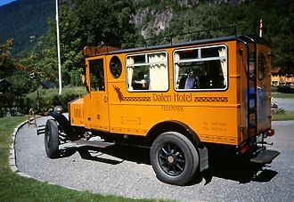 Dalen Hotel - Historic Hotel van still in use