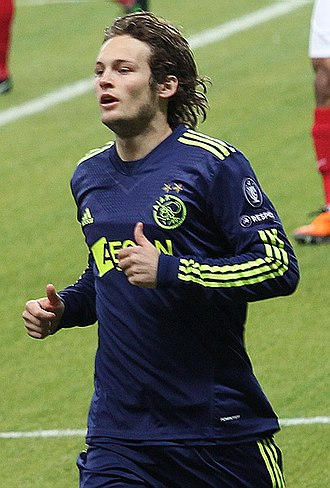 Daley Blind - Blind playing for Ajax in 2011