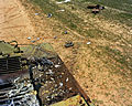 Damage to a target tank, 1983.JPEG