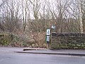 Damaged Railings, Low Matlock Lane, Loxley, Sheffield - geograph.org.uk - 1700135.jpg