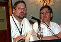 Dan Froomkin and Daniel Lyons.jpg