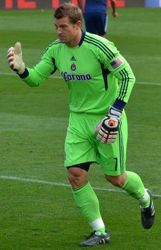 Dan Kennedy (soccer) - Kennedy playing for Chivas USA in 2011