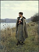 Daniel Ridgway Knight - The Shepherdess of Rolleboise - Google Art Project.jpg