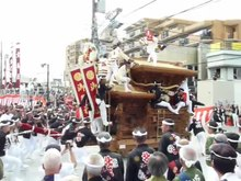 ファイル:Danjiri Festival at Otori Shrine in Sakai, Osaka 001.webm