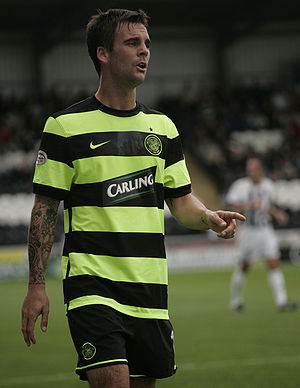 Danny Fox - Fox playing for Celtic