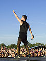 Danny O'Donoghue at Pinkpop 2015 performing with The Script.jpg