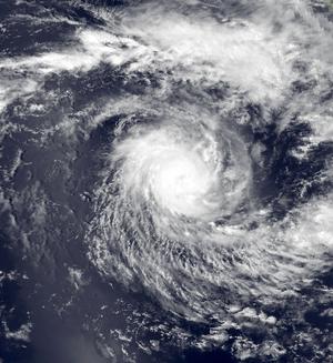 1995–96 Australian region cyclone season - Image: Daryl Nov 19 1995 0804Z