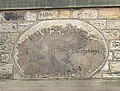 Datestone, Golcar Baptist Chapel, Chapel Lane, Golcar - geograph.org.uk - 408423.jpg