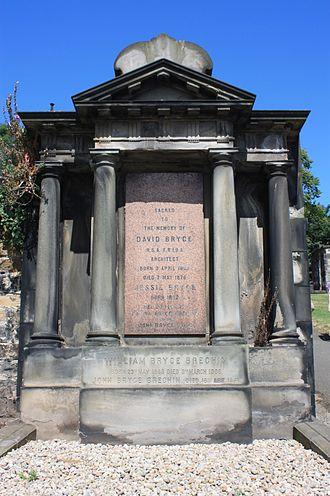 David Bryce - David Bryce's grave