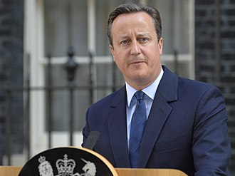 2016 United Kingdom European Union membership referendum - Prime Minister David Cameron announces his resignation following the outcome of the referendum.