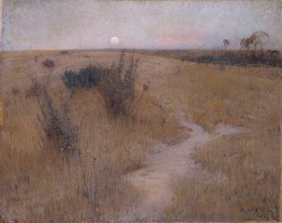 David Davies Moonrise 1894