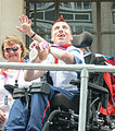 David Smith and his Boccia medals (cropped).jpg