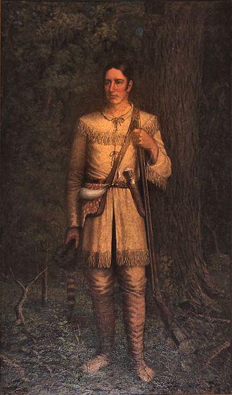 William Henry Huddle - Image: Davy crockett by huddle at capitol